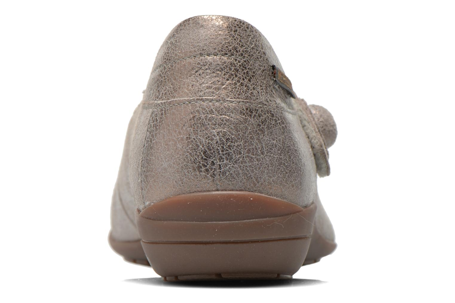 Ballet pumps Mephisto ODALYS Grey view from the right