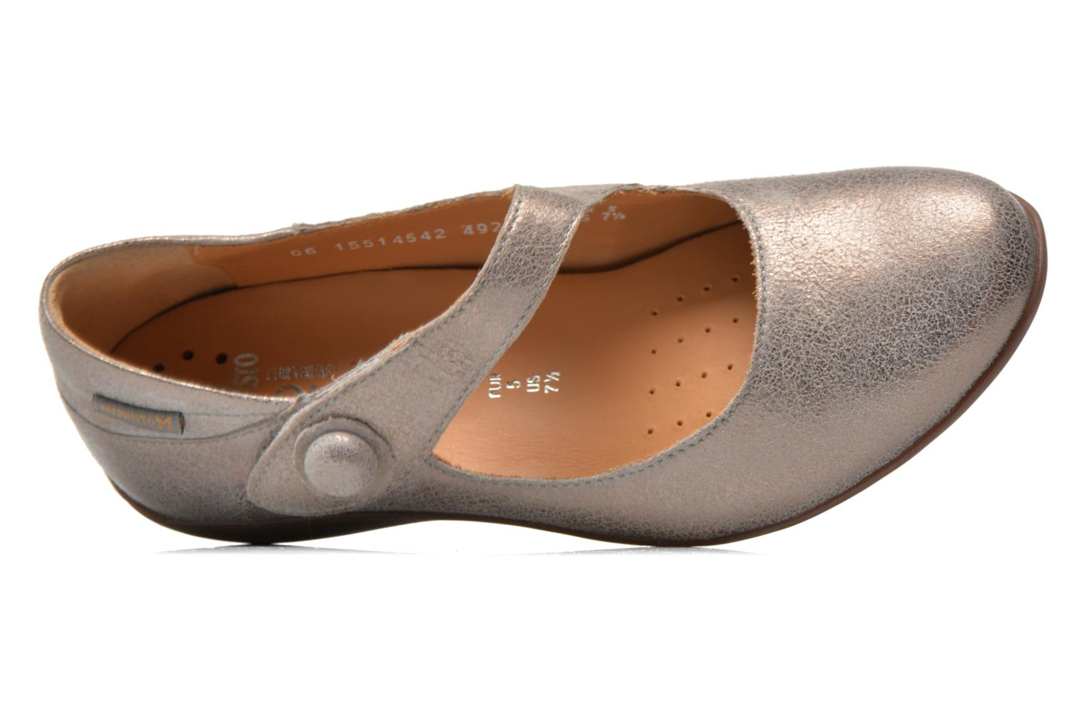 Ballet pumps Mephisto ODALYS Grey view from the left