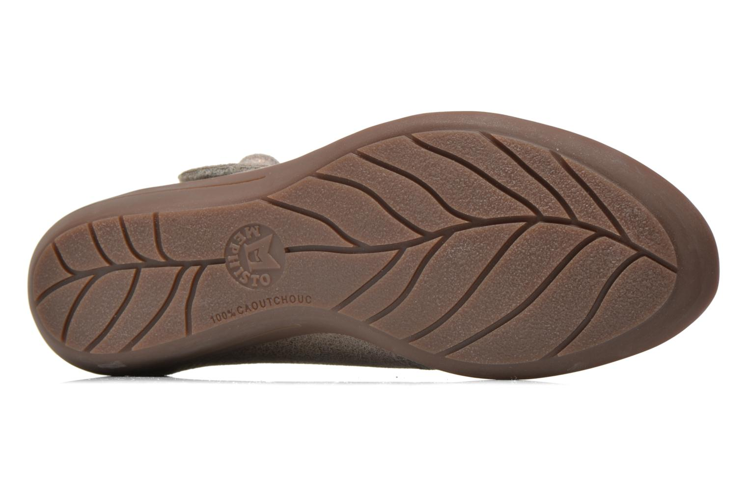 Ballet pumps Mephisto ODALYS Grey view from above