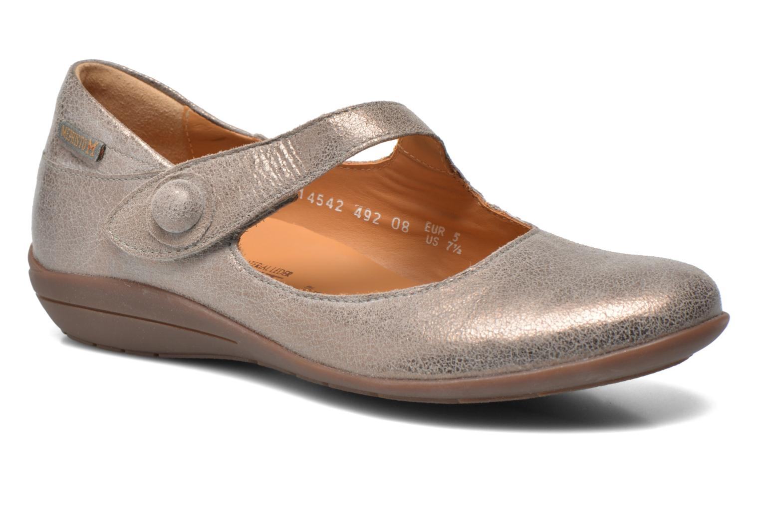 Ballet pumps Mephisto ODALYS Grey detailed view/ Pair view