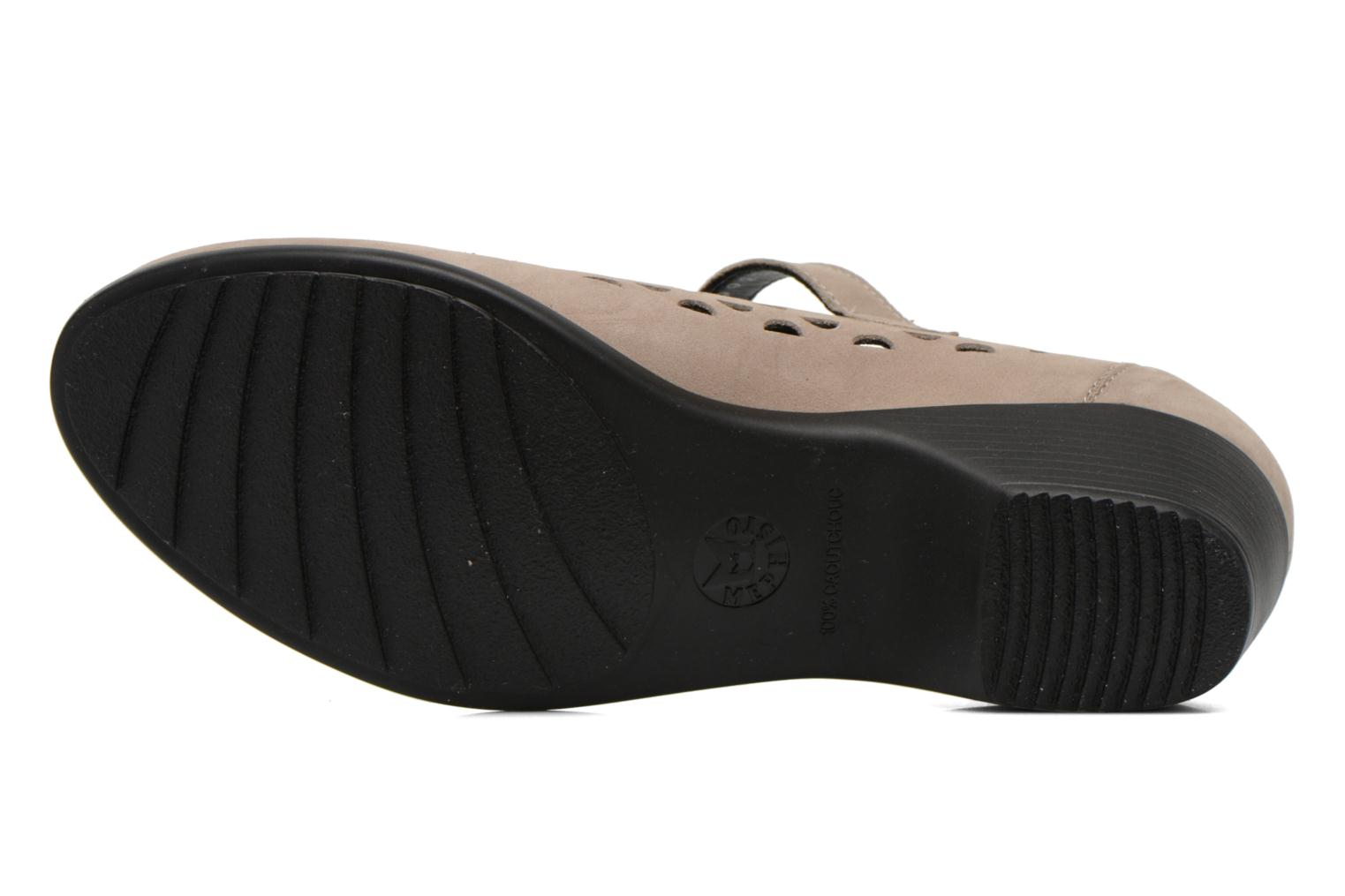 Ballet pumps Mephisto RODIA Beige view from above