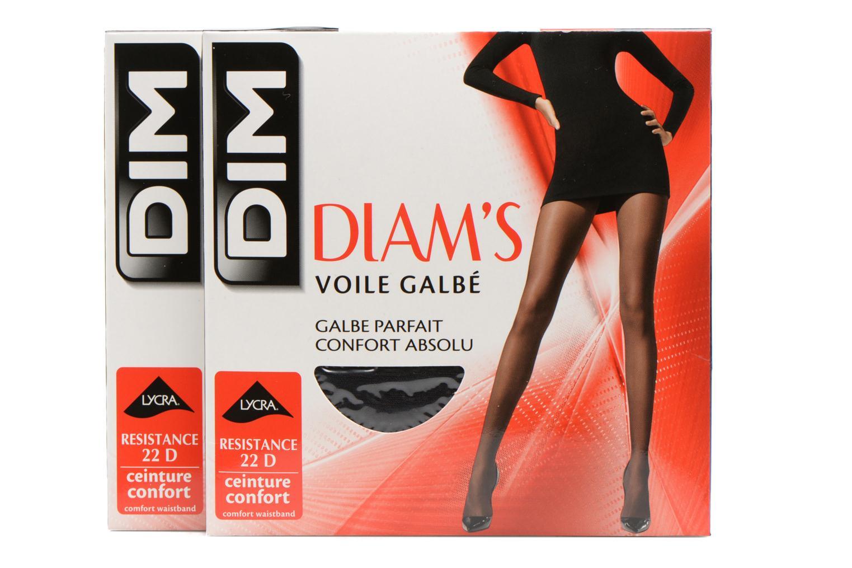 Collant DIAM'S VOILE GALBE Lot de 2 Noir