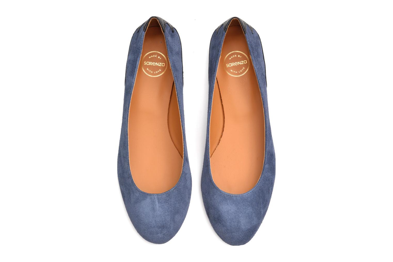 Bailarinas Made by SARENZA Seven Tease #5 Azul vista de arriba