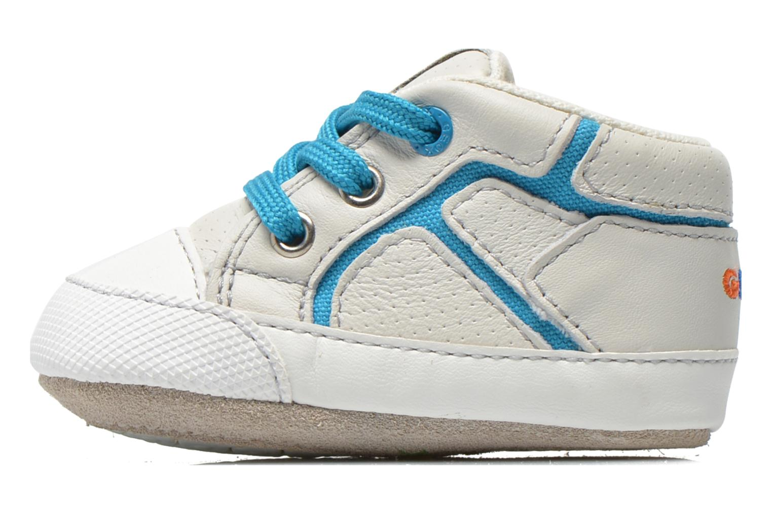 Trainers Geox B Ian B4252A White front view