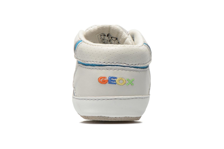 Baskets Geox B Ian B4252A Blanc vue droite