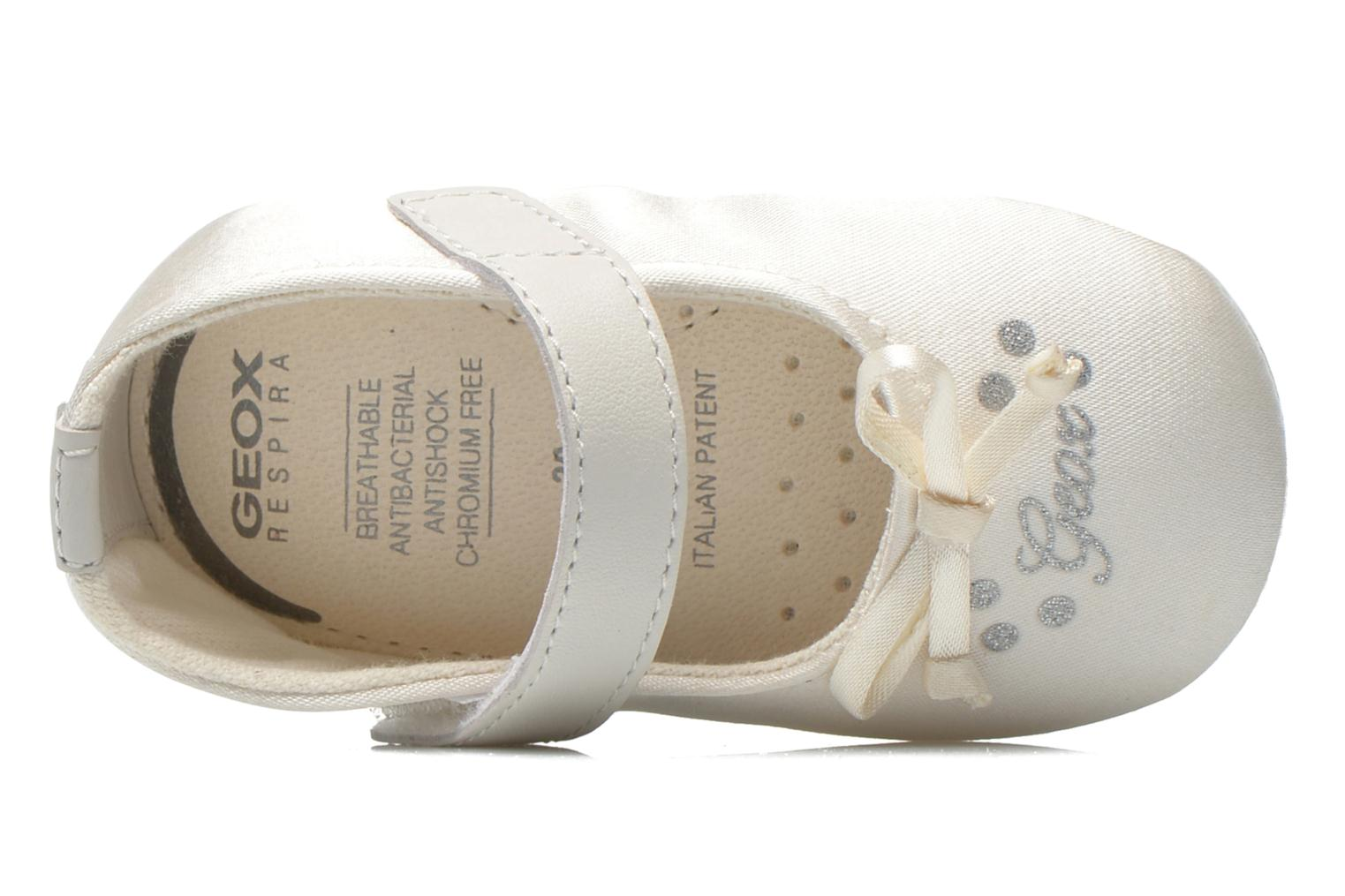 Ballet pumps Geox B Ian B5253C White view from the left