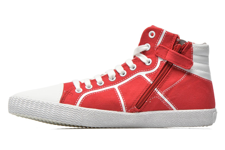Sneakers Geox J Smart Boy J52A8D Rosso immagine frontale