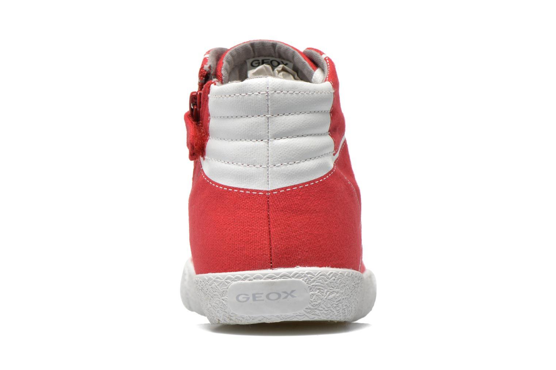 Sneakers Geox J Smart Boy J52A8D Rosso immagine destra
