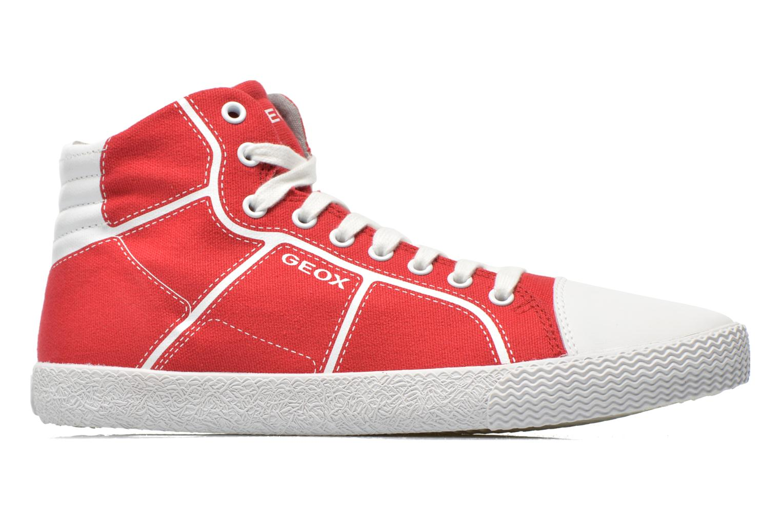 Sneakers Geox J Smart Boy J52A8D Rosso immagine posteriore