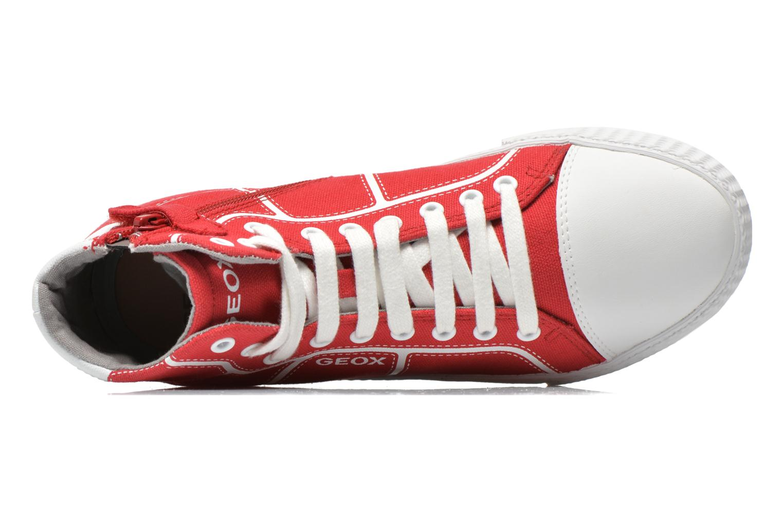 Sneakers Geox J Smart Boy J52A8D Rosso immagine sinistra