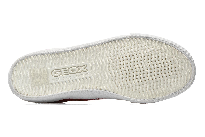 Sneakers Geox J Smart Boy J52A8D Rosso immagine dall'alto