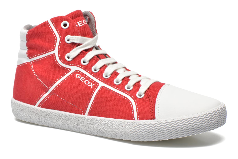 Sneakers Geox J Smart Boy J52A8D Rosso vedi dettaglio/paio
