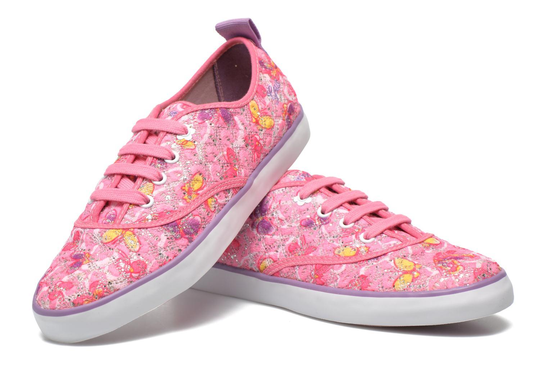 Sneakers Geox JR Ciak Girl J5204E Rosa immagine 3/4