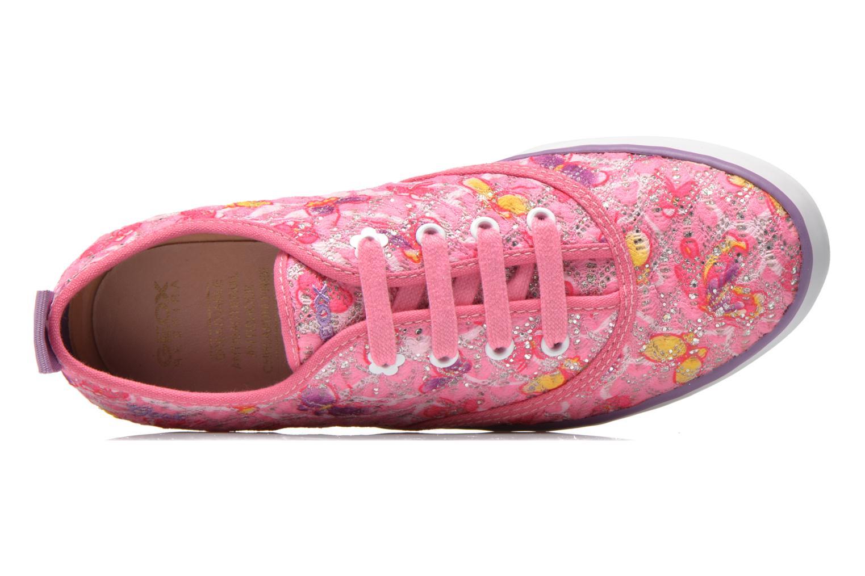 Sneaker Geox JR Ciak Girl J5204E rosa ansicht von links