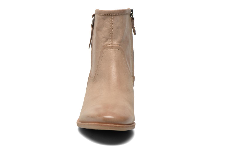 Bottines et boots Geox D Elixir D52C7A Beige vue portées chaussures