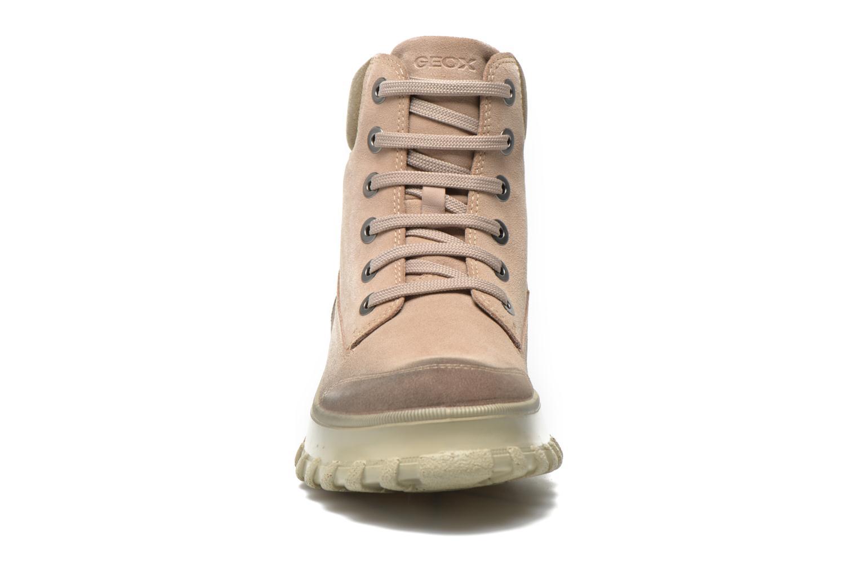 Stiefeletten & Boots Geox D Yeti B ABX D44U1B beige schuhe getragen