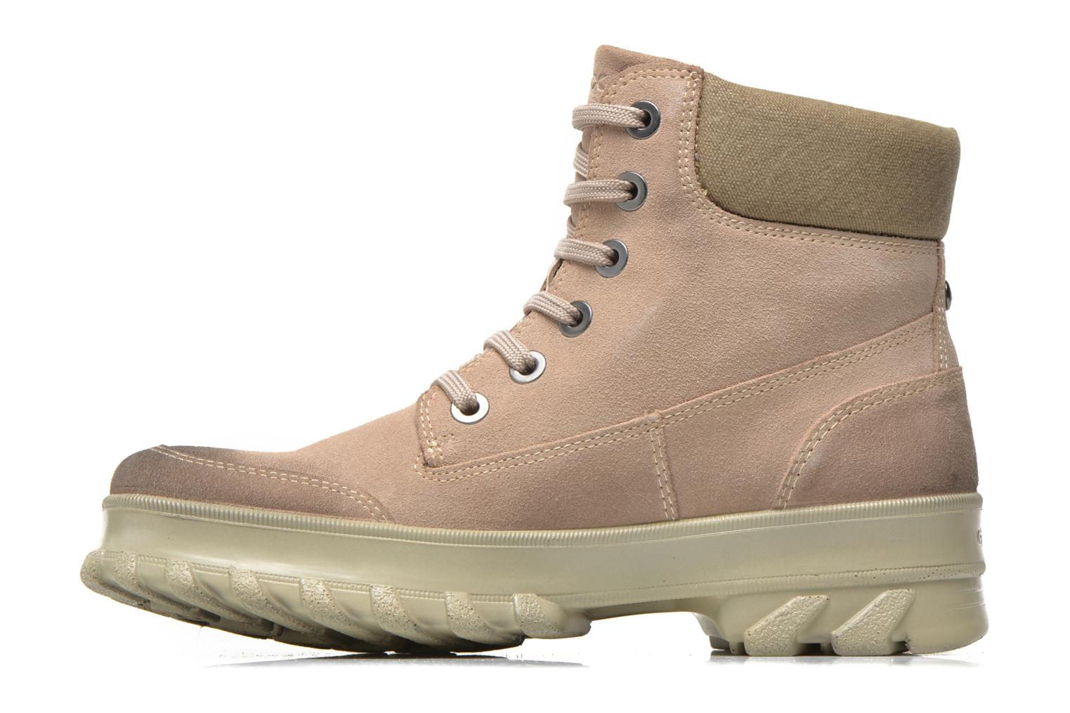 Ankle boots Geox D Yeti B ABX D44U1B Beige front view