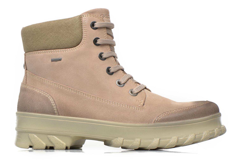 Ankle boots Geox D Yeti B ABX D44U1B Beige back view