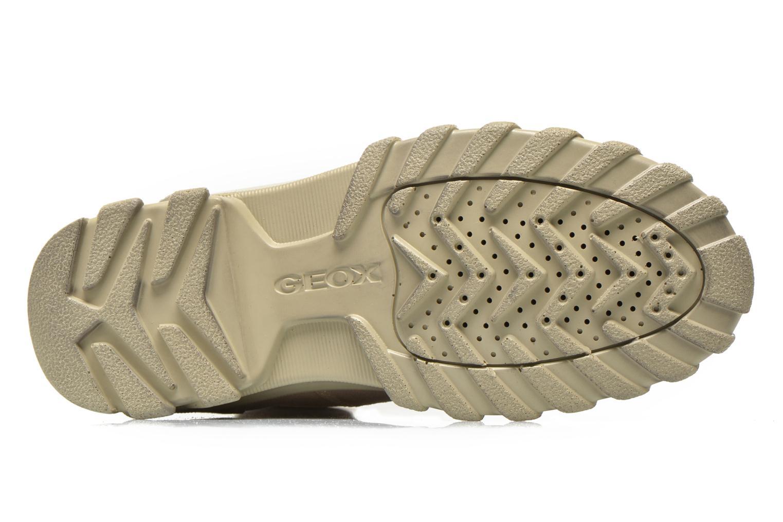 Stiefeletten & Boots Geox D Yeti B ABX D44U1B beige ansicht von oben