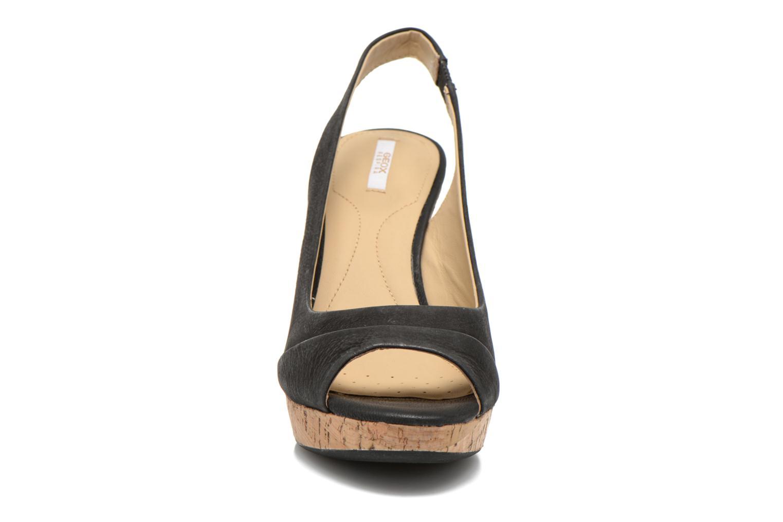 Sandales et nu-pieds Geox D Nurit D5271B Noir vue portées chaussures