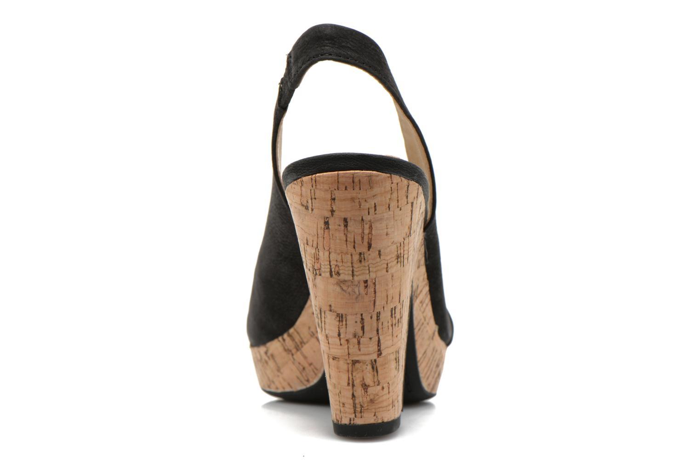 Sandales et nu-pieds Geox D Nurit D5271B Noir vue droite