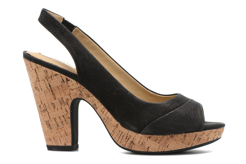 Sandales et nu-pieds Geox D Nurit D5271B Noir vue derrière
