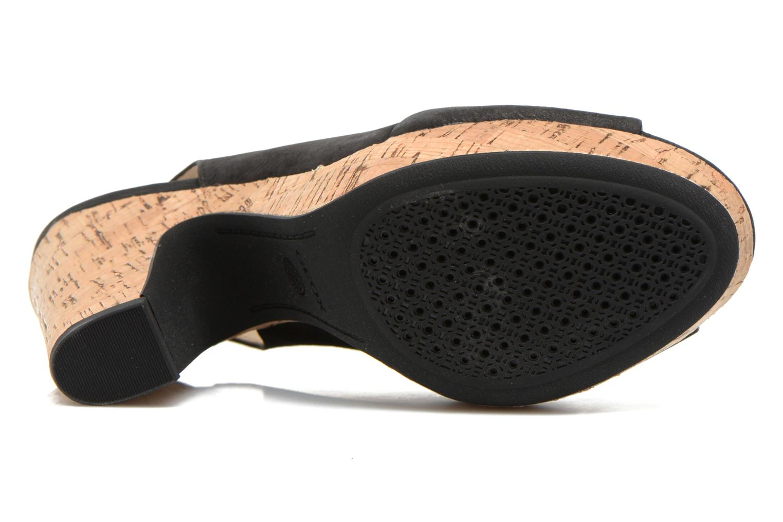 Sandales et nu-pieds Geox D Nurit D5271B Noir vue haut