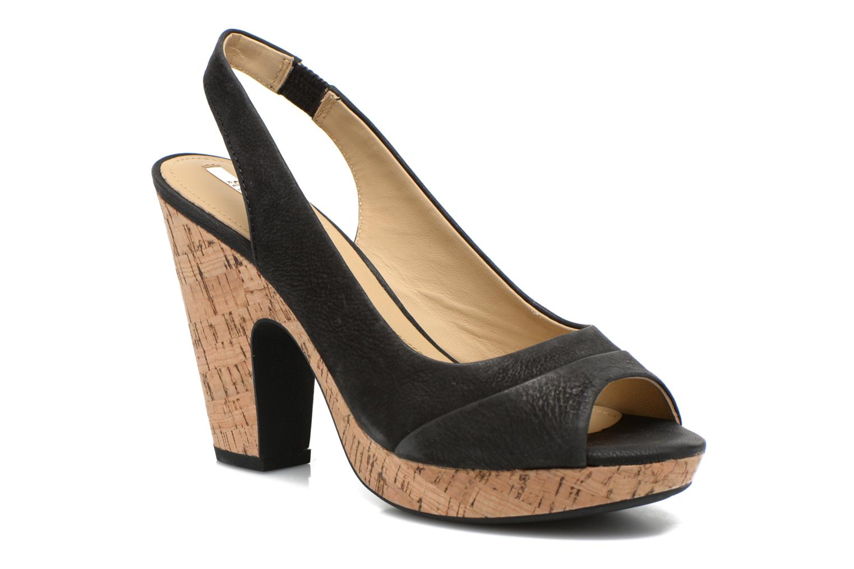 Sandales et nu-pieds Geox D Nurit D5271B Noir vue détail/paire