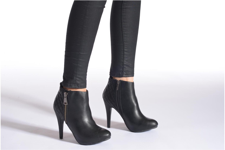 Bottines et boots Refresh Elise-61121 Noir vue bas / vue portée sac