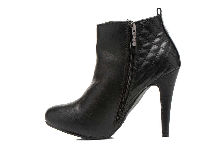 Bottines et boots Refresh Elise-61121 Noir vue face