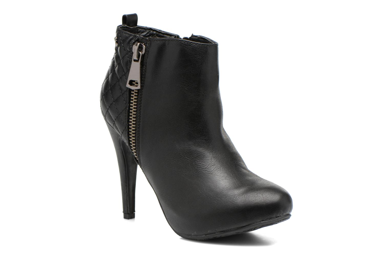 Bottines et boots Refresh Elise-61121 Noir vue détail/paire