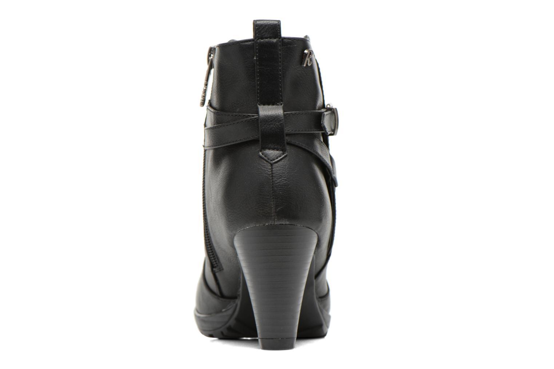 Bottines et boots Refresh Lisa-61174 Noir vue droite