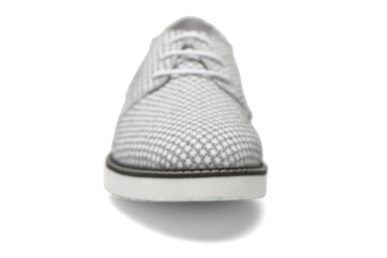 Schnürschuhe Ippon Vintage James Print grau schuhe getragen