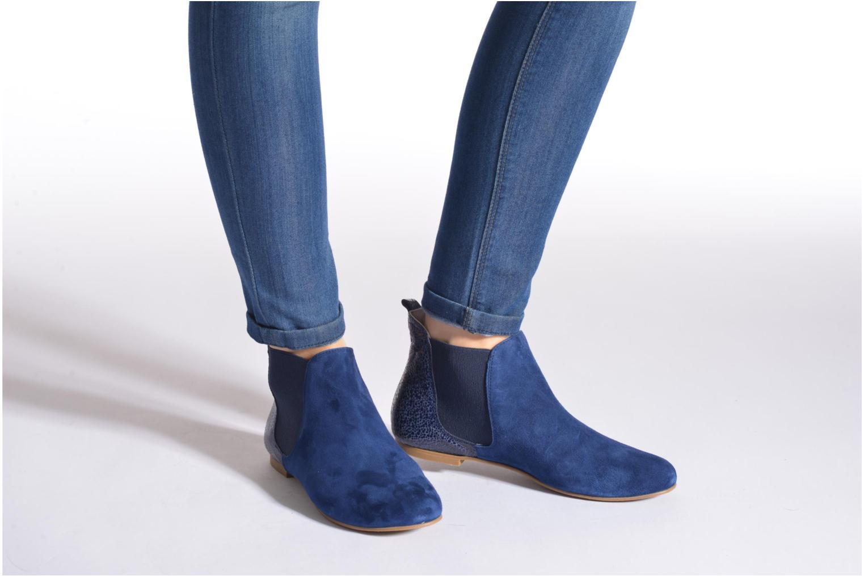 Bottines et boots Ippon Vintage Sun Puppies Bleu vue bas / vue portée sac