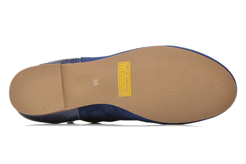 Bottines et boots Ippon Vintage Sun Puppies Bleu vue haut