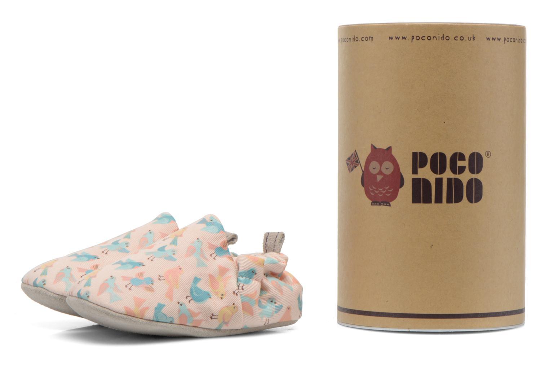 Pantofole Poco Nido PASTEL BIRDS Rosa immagine 3/4