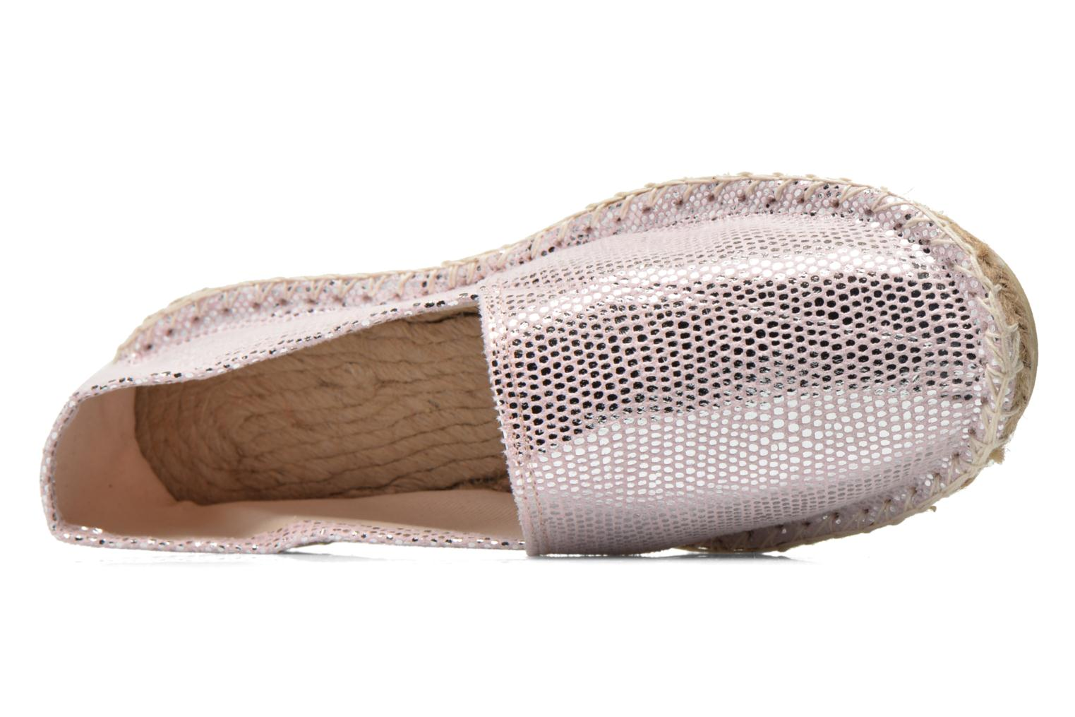 Espadrilles Arsène Mermaid Silver view from the left