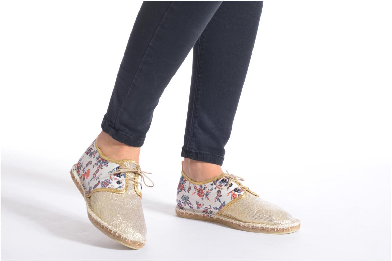 Chaussures à lacets Arsène Tennis Bandana Multicolore vue bas / vue portée sac