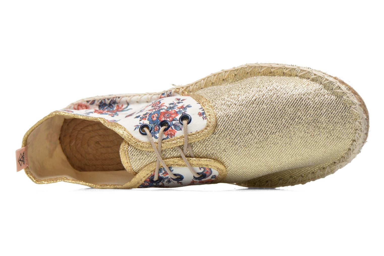 Chaussures à lacets Arsène Tennis Bandana Multicolore vue gauche