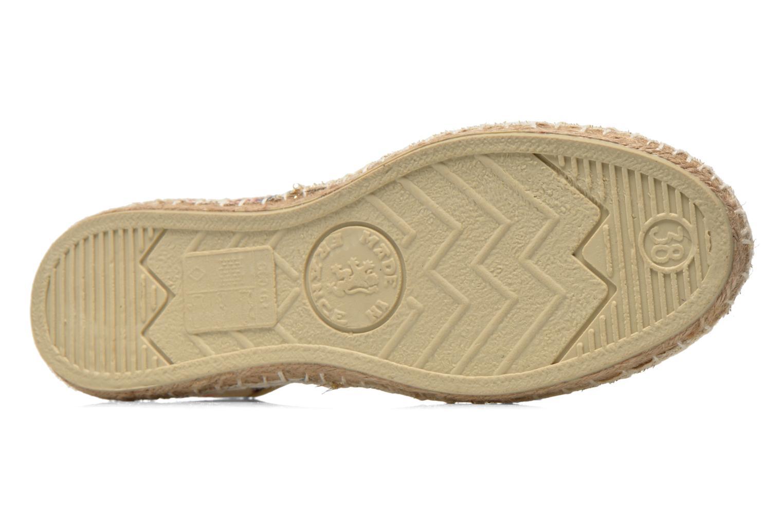 Chaussures à lacets Arsène Tennis Bandana Multicolore vue haut