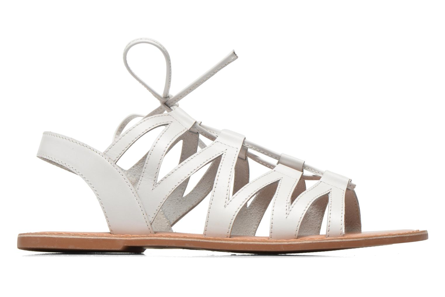 Sandals I Love Shoes SUGLI Leather White back view