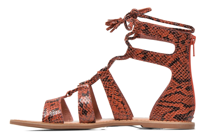 Sandali e scarpe aperte I Love Shoes SUGLIHIGH CUIR Rosso immagine frontale