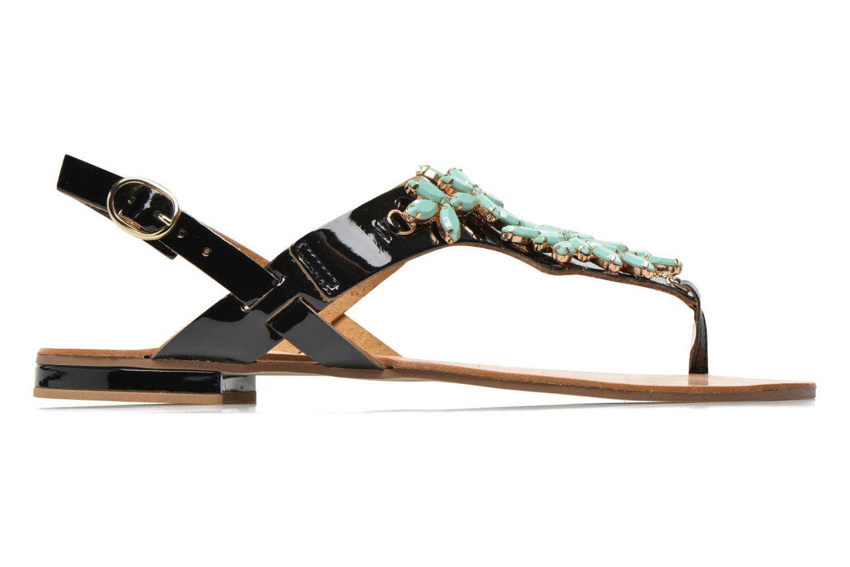 Sandales et nu-pieds Georgia Rose Dollie Noir vue derrière