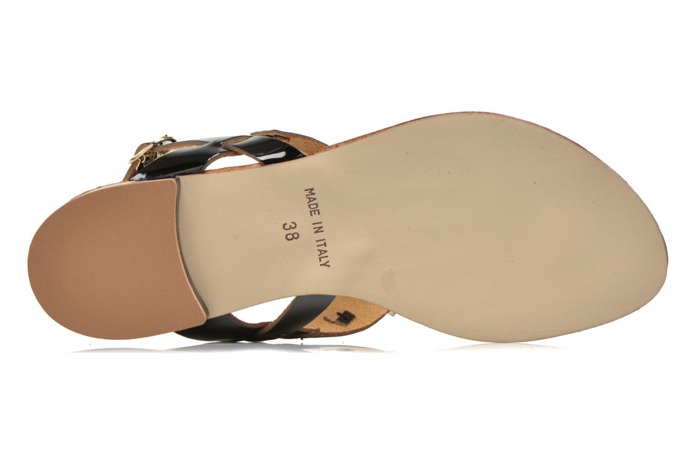 Sandales et nu-pieds Georgia Rose Dollie Noir vue haut