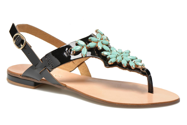 Sandales et nu-pieds Georgia Rose Dollie Noir vue détail/paire
