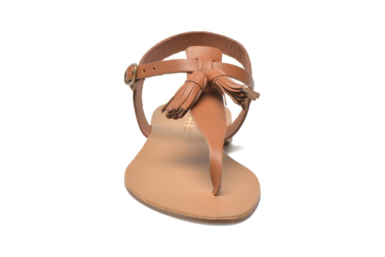 Sandals Georgia Rose Dormine Brown model view