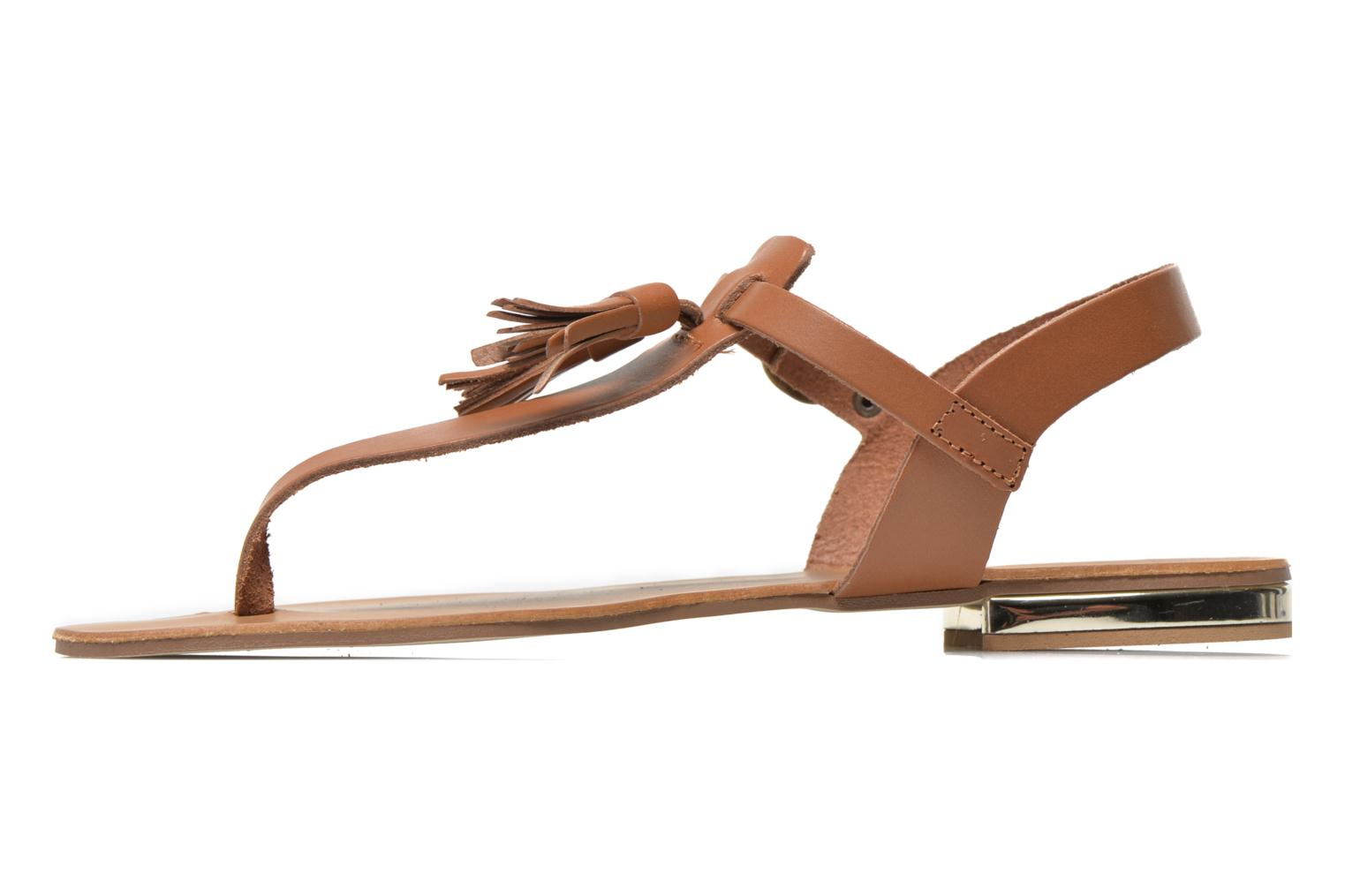 Sandals Georgia Rose Dormine Brown front view