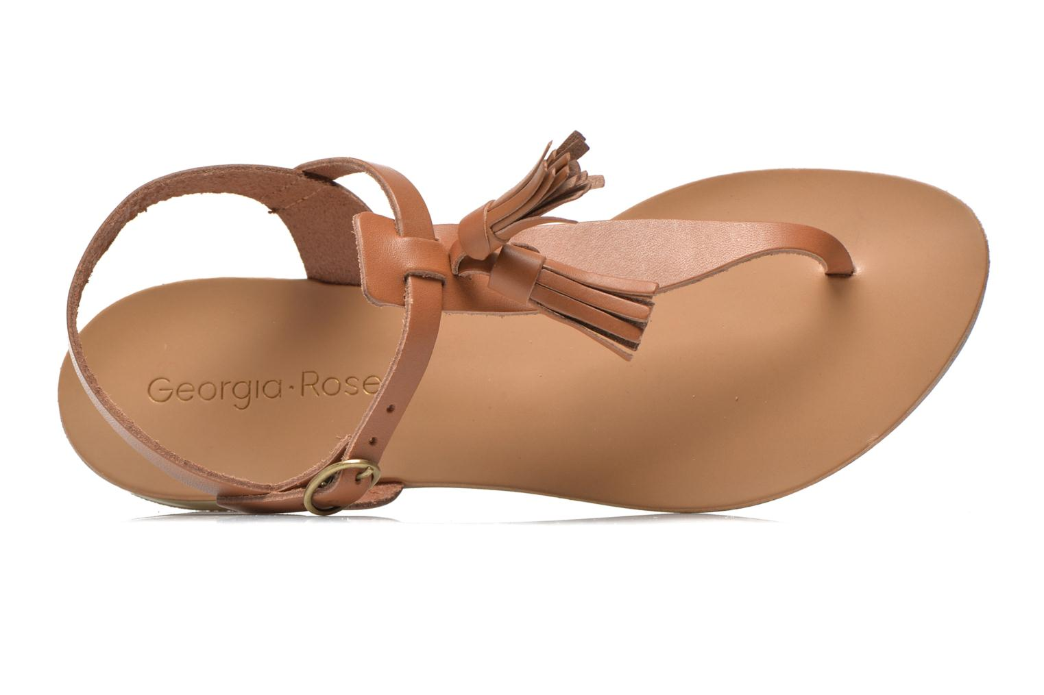 Sandals Georgia Rose Dormine Brown view from the left