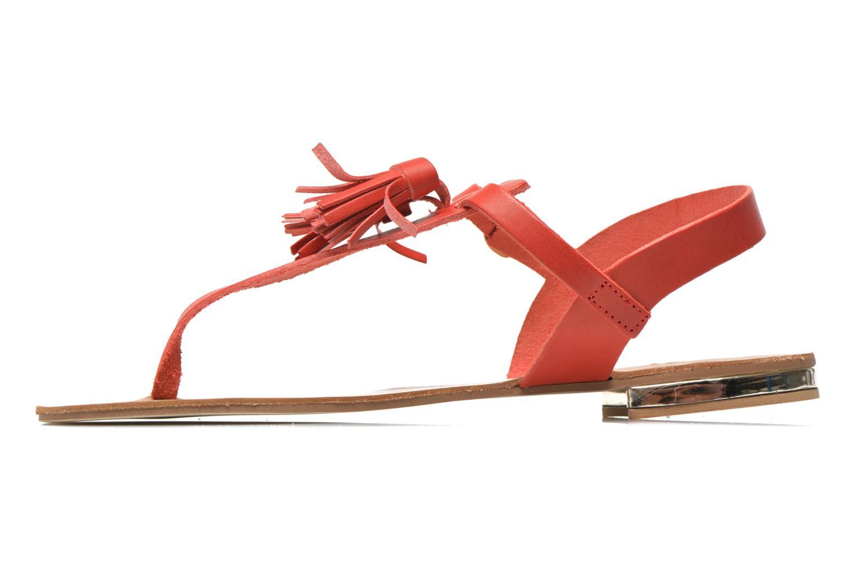 Sandales et nu-pieds Georgia Rose Dormine Rouge vue face