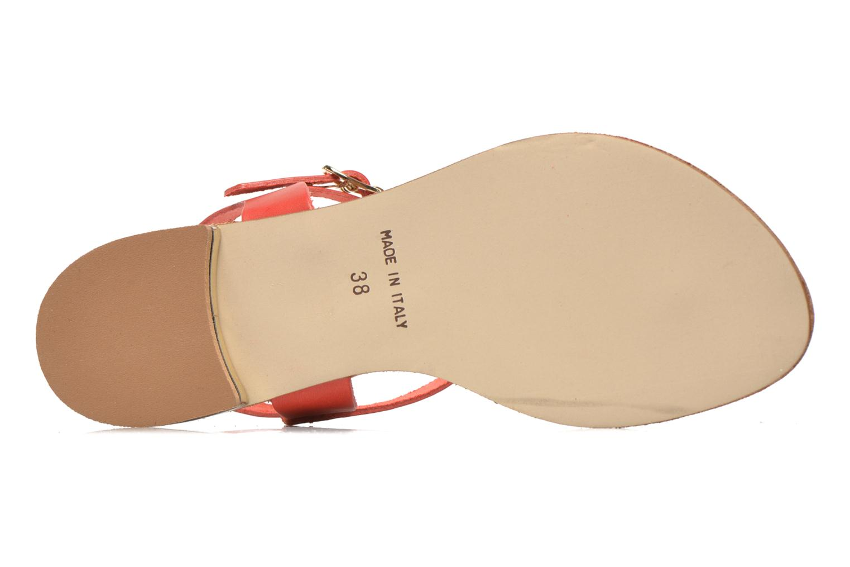 Sandales et nu-pieds Georgia Rose Dormine Rouge vue haut